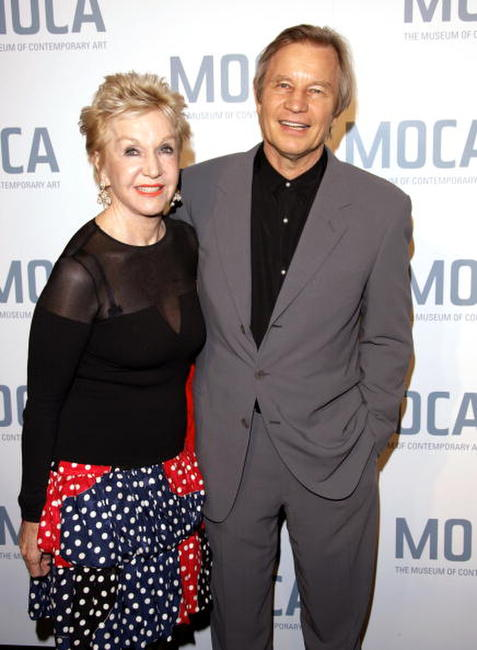 Pat York and Michael York at the Skin and Bones Opening Night Fete.