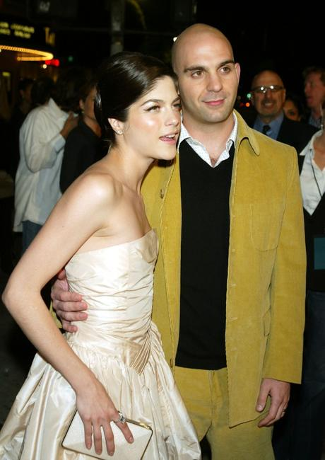 Selma Blair and Ahmet Zappa at the premiere of