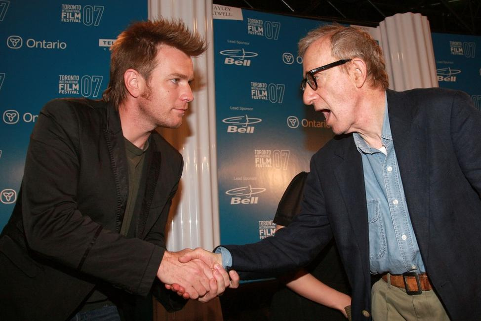 Woody Allen and Ewan McGregor at the Toronto International Film Festival.