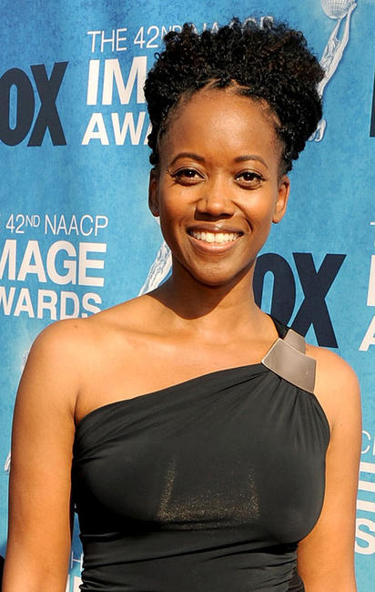 Erika Alexander at the 42nd NAACP Image Awards in California.