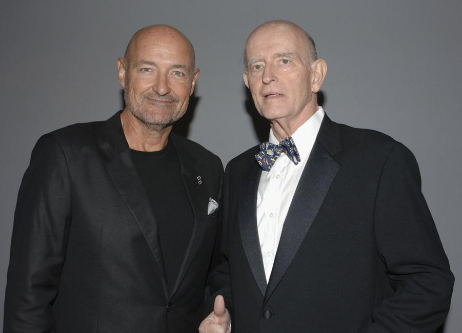 Peter Boyle and Terry OQuinn at the 12th Annual Screen Actors Guild Awards at Los Angeles Shrine Exposition Center.