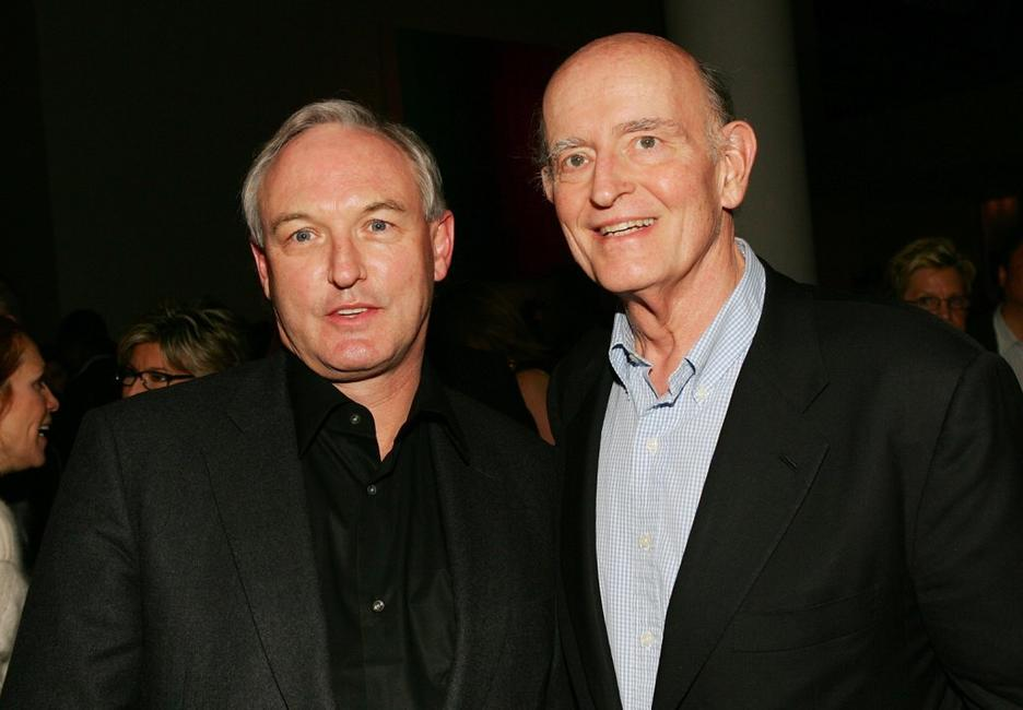 Peter Boyle and Christopher Buckley at the