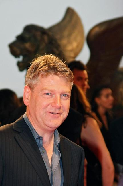 Kenneth Branagh at the projection of his movie in competition