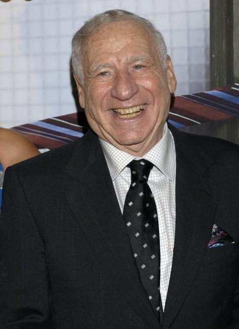 Mel Brooks at the Coliseum Theatre for premiere of