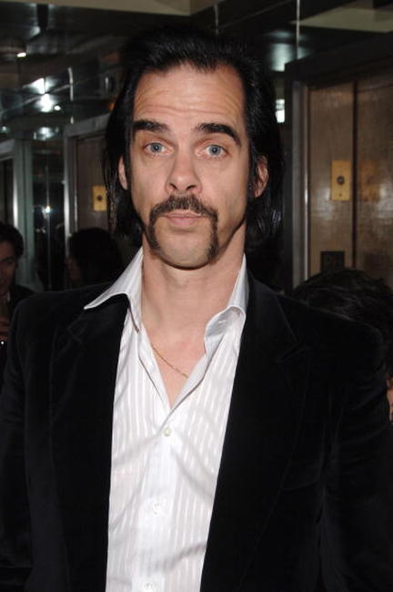 Nick Cave at the Cinema Society premiere of