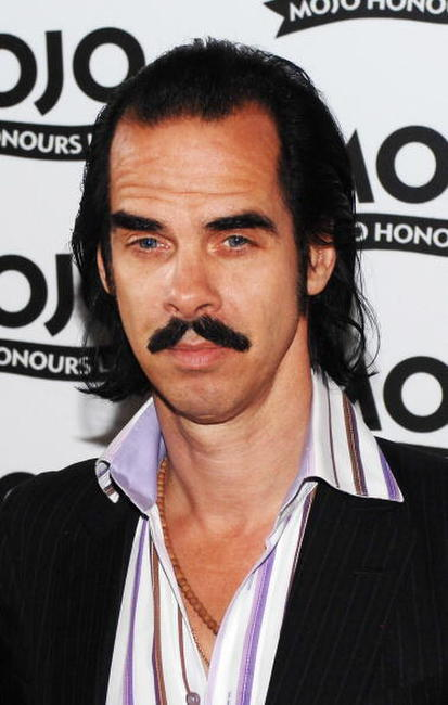 Nick Cave at the Mojo Honours List 2008 Award ceremony.