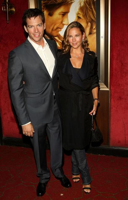 Harry Connick, Jr. and his wife Jill Goodacre at the premiere of
