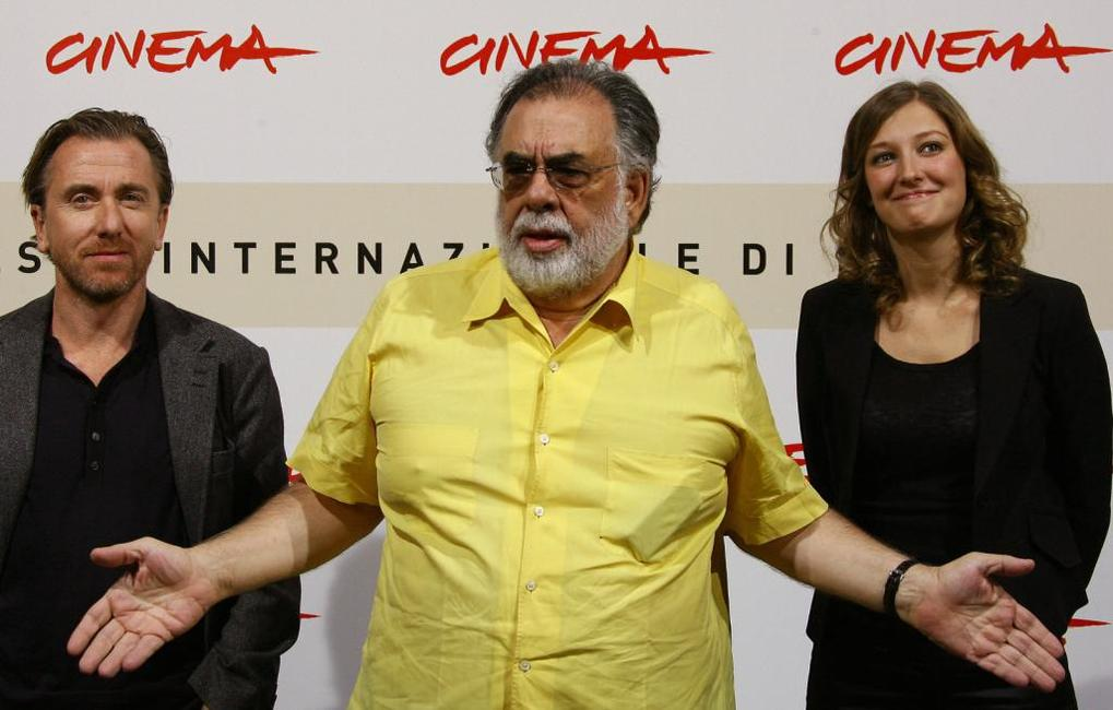 Francis Ford Coppola, Tim Roth and Alexandra Maria Lara at the second annual RomeFilmFest for the photocall of