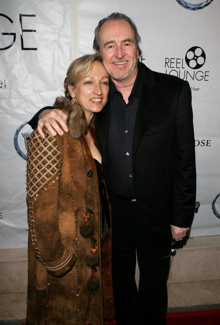 Wes Craven and Iya Labunka at the REEL Lounge Presents the Benderspink Oscar Party.