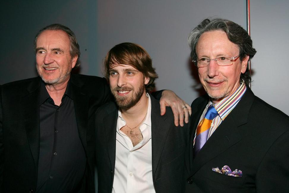 Wes Craven, Alexandre Aja and Peter Locke at the after party for the premiere of