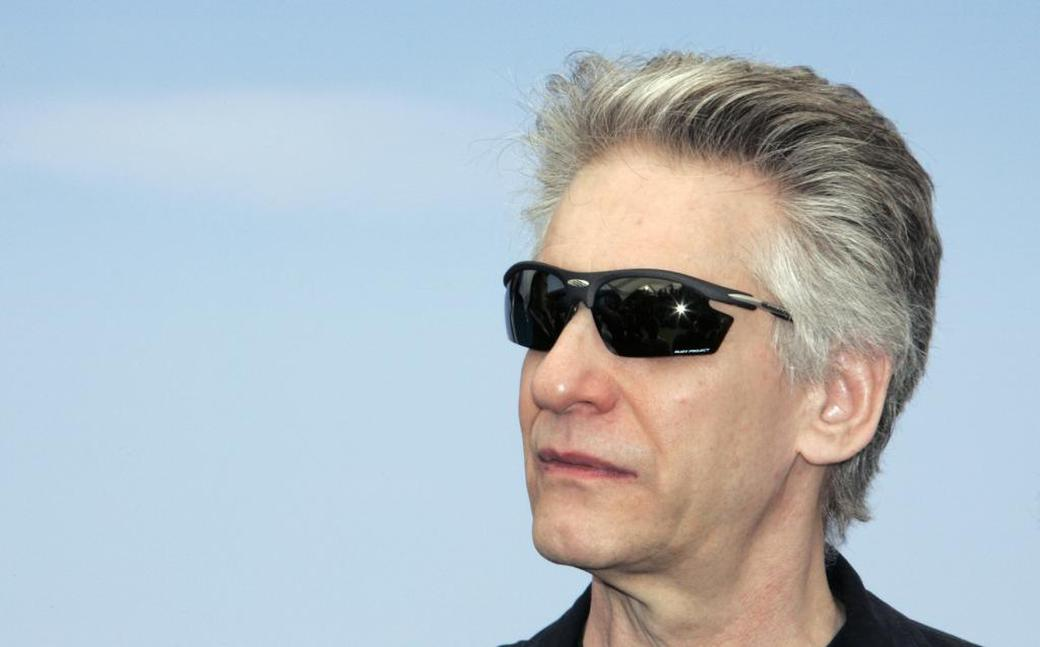 David Cronenberg at a photocall for the film