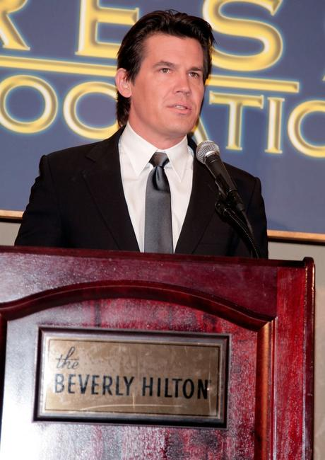 Josh Brolin at the announcement of the Cecil B. DeMille and Miss Golden Globe annoucement.