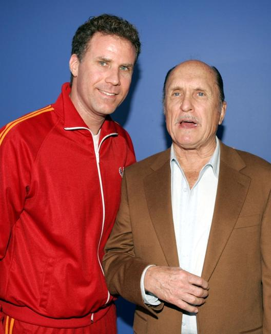 Robert Duvall and Will Ferrell at the California premiere of