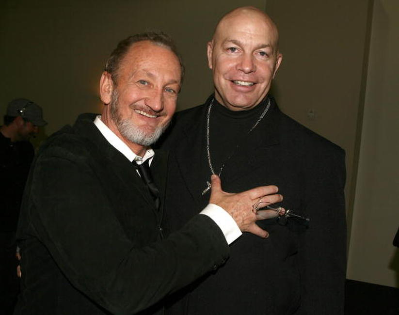 Robert Englund and Michael Bailey Smith at the Fuse Fangoria Chainsaw Awards.