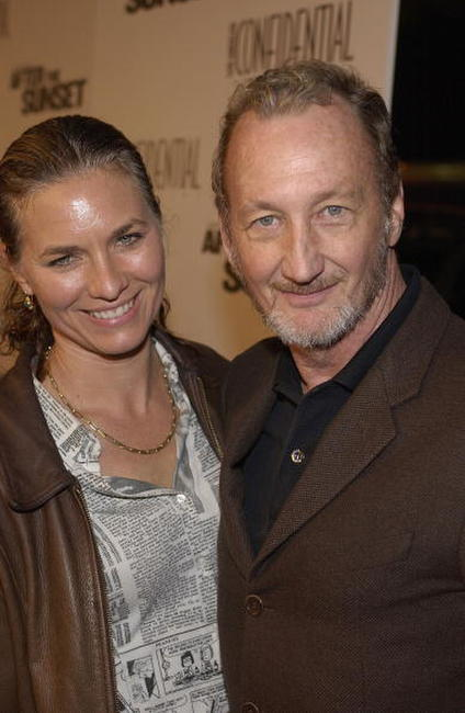 Robert Englund and Nancy Booth at the premiere of