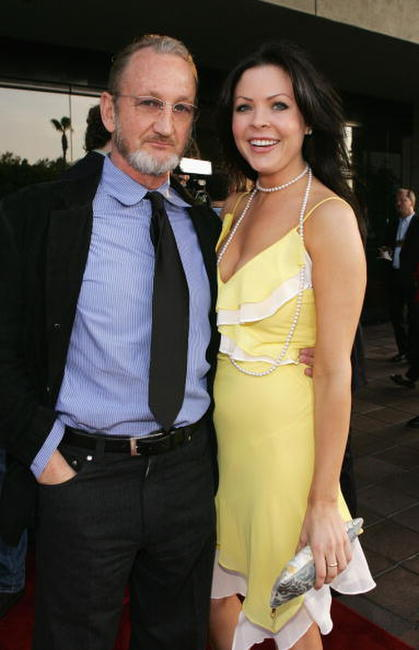 Robert Englund and Christa Campbell at the 31st Annual Saturn Awards.