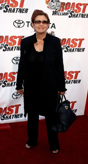 Carrie Fisher at the Comedy Central Roast of William Shatner.