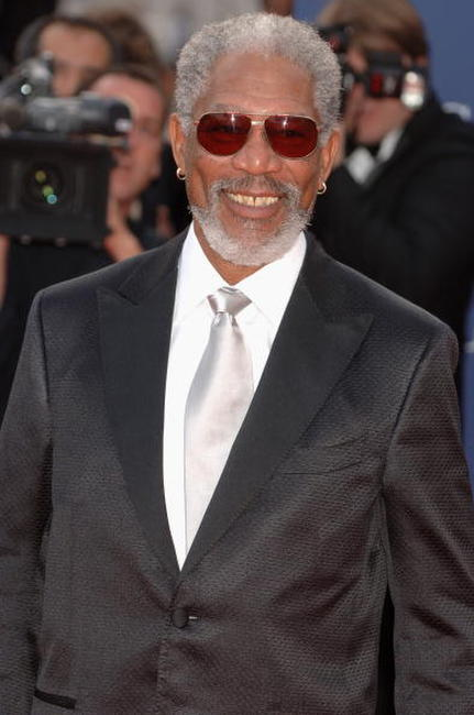 Actor Morgan Freeman at the Laureus World Sports Awards in Spain.