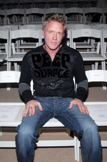 Anthony Michael Hall at the Custo Barcelona Spring 2007 Fashion show during the Olympus Fashion Week.