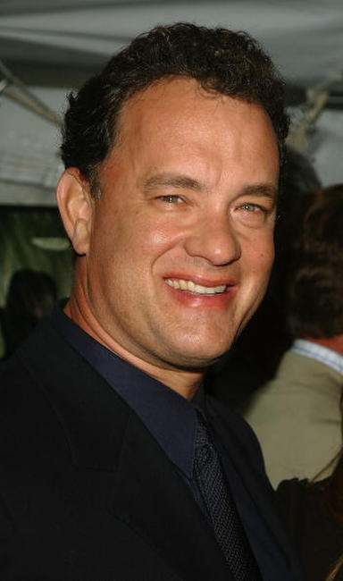 "Tom Hanks at the ""Road To Perdition"" film premiere in New York City."