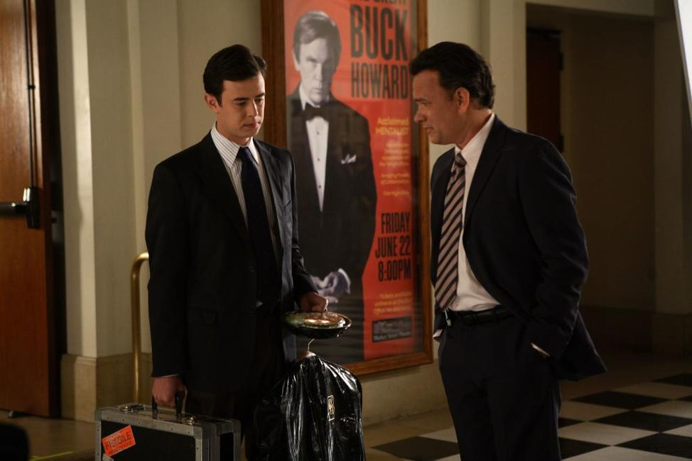 Colin Hanks and Tom Hanks in