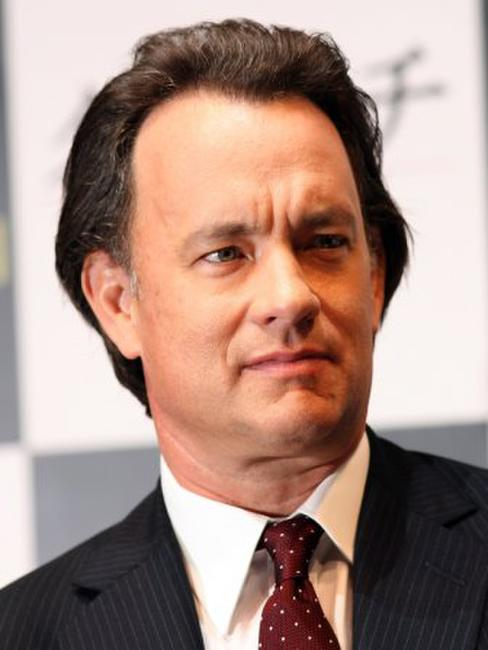Tom Hanks at the press conference of