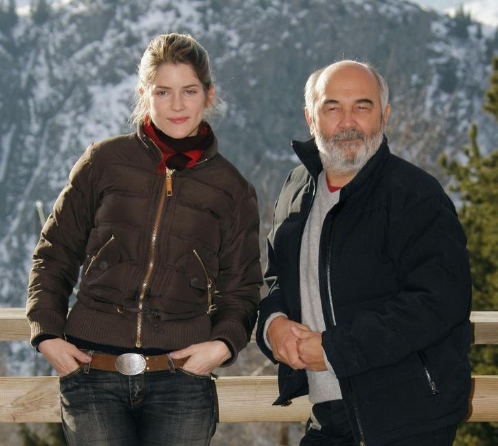 Alice Taglioni and Gerard Jugnot at the photocall of
