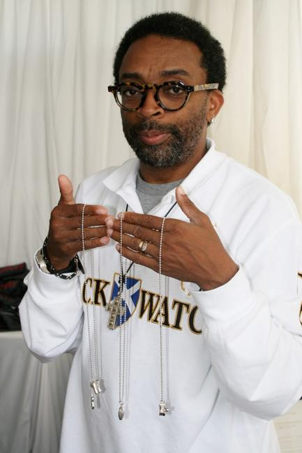 Spike Lee at the 64th Venice Film Festival for the DPA Venice 2007 Gift Lounge.