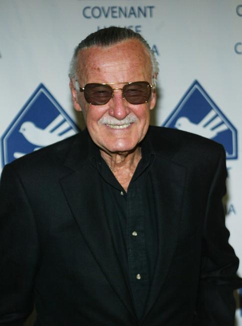 Stan Lee at the Covenant House California Youth Dinner.