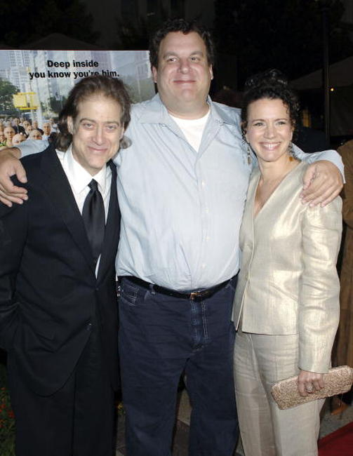 Richard Lewis, Jeff Garlinand and Susie Essman at the Los Angeles premiere of