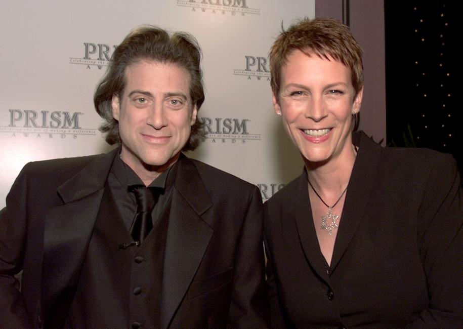Richard Lewis and Jamie Lee Curtis at the 5th Annual Prism Awards.