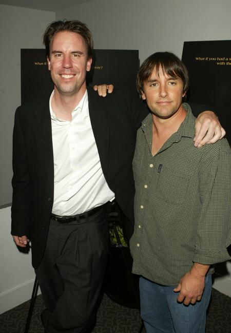 Richard Linklater and Mark Gill at the Premiere of