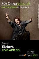 The Metropolitan Opera: Elektra LIVE showtimes and tickets