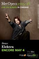 The Metropolitan Opera: Elektra ENCORE showtimes and tickets