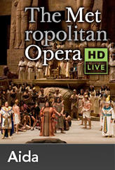 The Metropolitan Opera: Aida Encore II showtimes and tickets