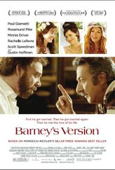 Barney's Version showtimes and tickets