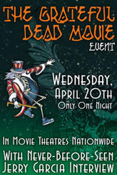 The Grateful Dead Movie Event showtimes and tickets