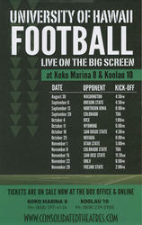 UH vs Oregon State showtimes and tickets
