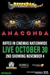 RiffTrax Live: Anaconda showtimes and tickets
