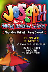 Joseph and the Amazing Technicolor Dreamcoat showtimes and tickets