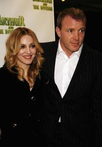Madonna and her husband Guy Ritchie at the UK premiere of