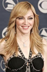 Madonna at the 48th Annual Grammy Awards.