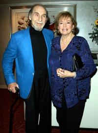 Sid Caesar and Florence Caesar at the Friars Club of California event.