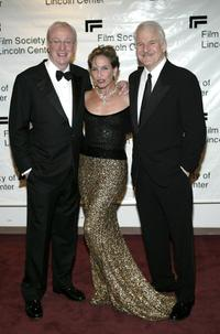 Steve Martin, Sir Michael Caine and Andrea Marcovicci at the Film Society Of Lincoln Centers 2004 Gala Tribute.
