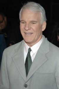Steve Martin at the New York premiere of