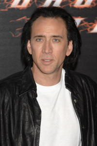 Nicolas Cage at a photocall for