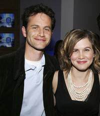 Kirk Cameron and Tracey Gold at the AOL and Warner Bros. Launch of In2TV.