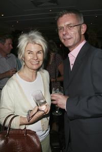 Robyn Nevin and Stephen Daldry at the 2006 Sydney Theatre Awards.
