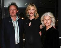 Andrew Upton, Cate Blanchett and Robyn Nevin at the premiere of