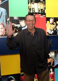 Leonard Nimoy at the Licensing International Expo.